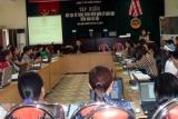 Hơn 100 Cán bộ giáo viên tham dự khóa tập huấn phần mềm giáo dục mầm non Hà Nội trong công tác quản lý cấp học Mầm Non